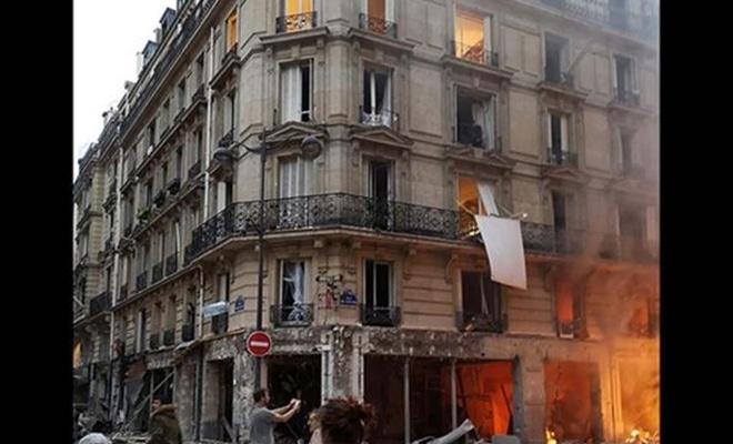 Paris`teki patlamada 4 kişi öldü