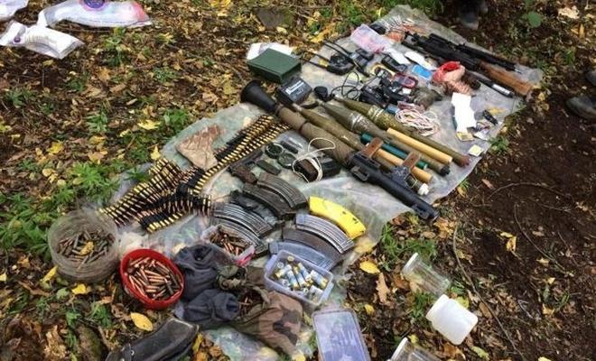Erzincan`da silah ve mühimmat bulundu