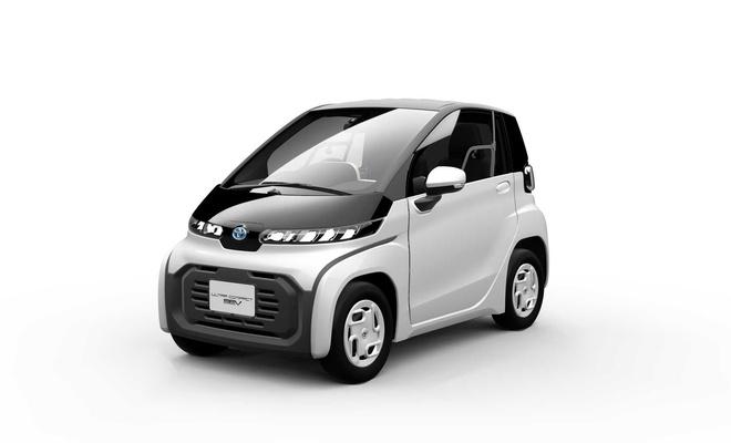 Toyota, mini elektrikli otomobilini tanıttı