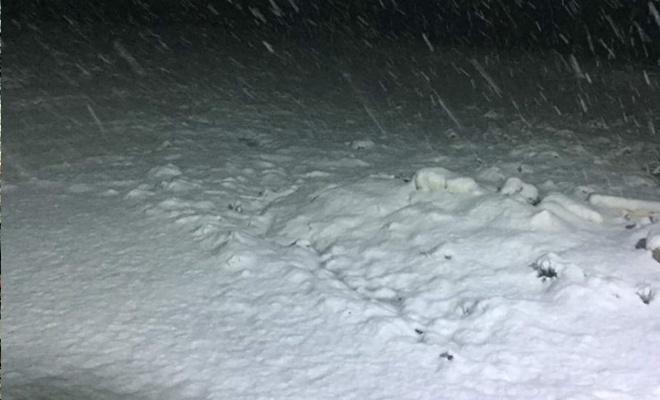 Yağan kar şaşkınlığa yol açtı