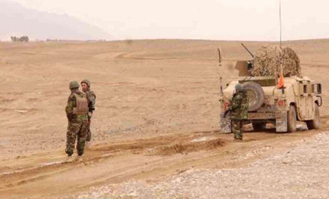 Afganistan'da Taliban saldırısında 8 Afgan askeri öldürüldü