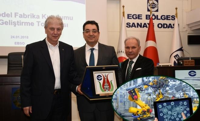 İzmir`e Sanayi 4.0`a uygun Model Fabrika geliyor