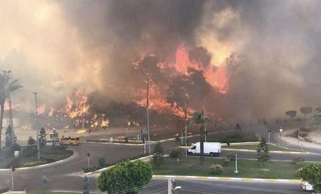 Antalya'daki yangınlara soruşturma