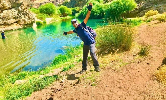 Doğaseverlerin yeni gözdesi: Habeş Kanyonu