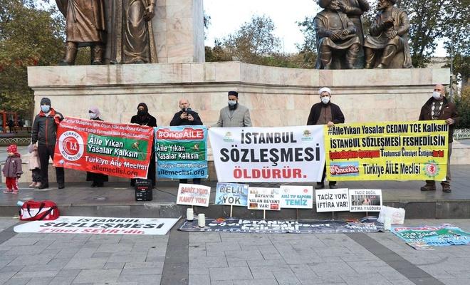 Türkiye Aile Meclisi: İstanbul sözleşmesi acilen iptal edilmeli