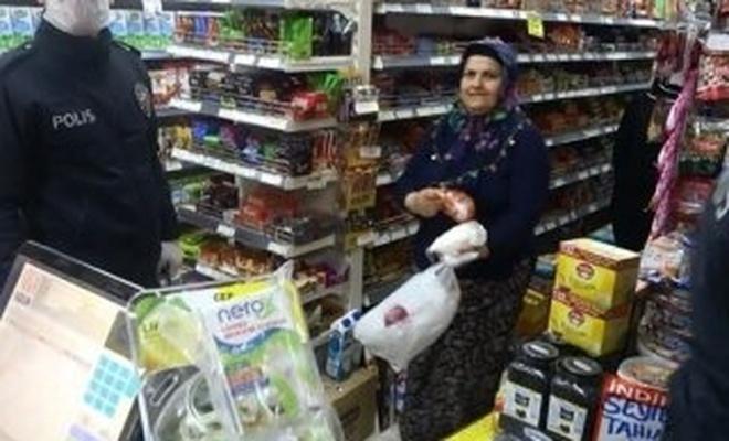 1183 market ve müşteriye koronavirüs cezası