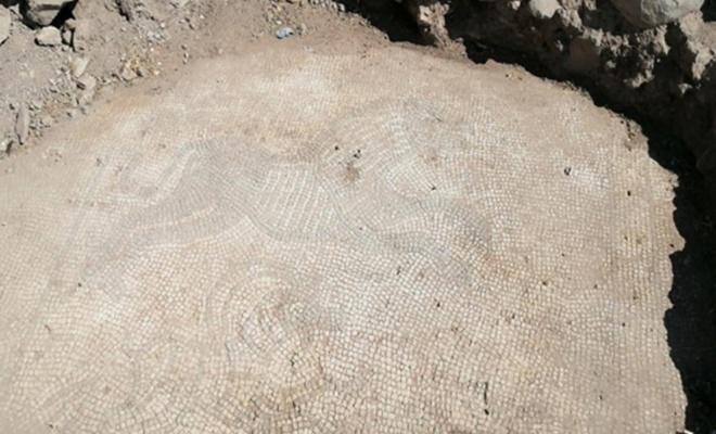 Roma dönemine ait mozaikler ele geçirildi