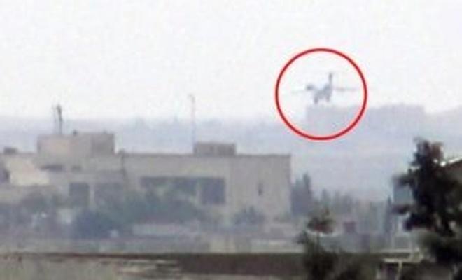 YPG kontrolündeki Kamışlı'ya kargo uçağı indi