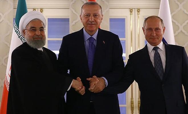 Üçlü Zirve'den Suriye mesajı: Çözüm askeri değil siyasi yollarla olmalı