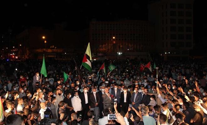 Diyarbakırlılar Mescid-i Aksa için yeniden meydanlarda