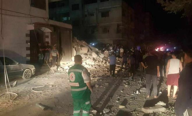 İşgal rejimi mülteci kampını bombaladı: Şehitler var