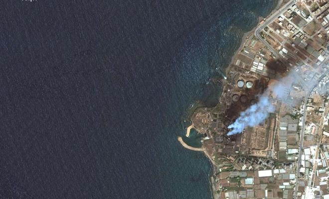 Akdeniz'de Suriye kaynaklı petrol sızıntısına ilişkin temizleme çalışmaları devam ediyor