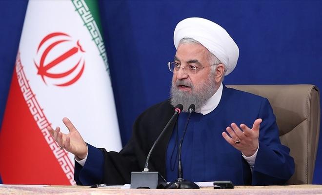 İran Cumhurbaşkanı Ruhani son kabine toplantısında konuştu