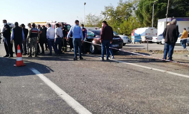 Adıyaman'da trafik kazası: 1 ölü 4 yaralı