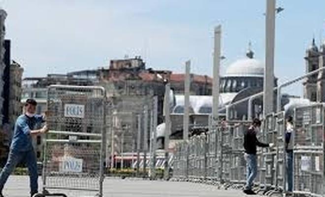 Gezi olaylarının 7. yıldönümünde Gezi Parkı bariyerlerle kapatıldı