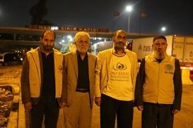 UKV yeni yardımlar için deprem bölgesinden ayrıldı
