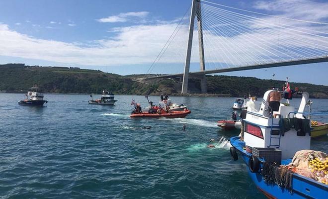 İstanbul'da batan balıkçı teknesinde ölü sayısı 2'ye çıktı