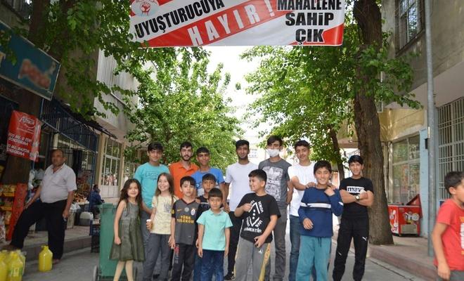 Gençler mahallelerinde artan uyuşturucu bağımlığına karşı destek bekliyorlar