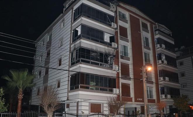 Torbalı Belediye Başkanı Uygur ve ailesi yaşadıkları apartmanda çıkan yangında dumandan etkilendi