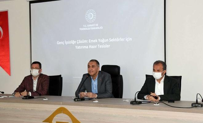 Adıyaman'da genç işsizliğin çözümü için toplantı yapıldı