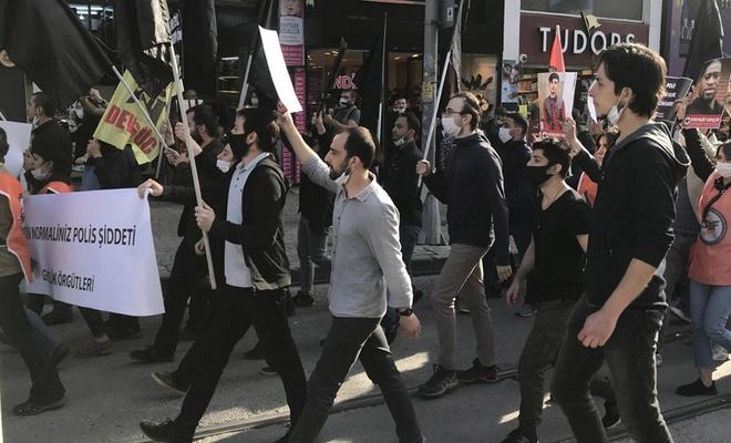 Kadıköy'deki George Floyd eylemine polis müdahalesi
