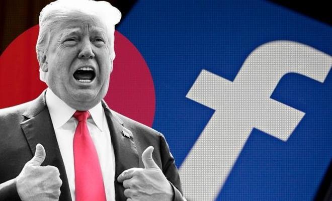 Facebook yasağı sürdürünce Trump açtı ağzını