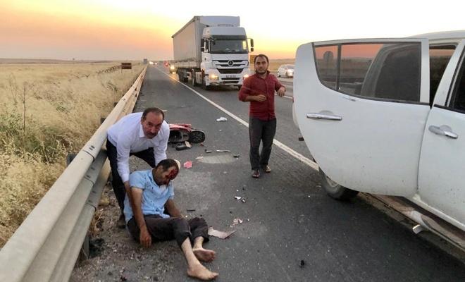 Nusaybin'de motosiklet kazası, 1 ölü