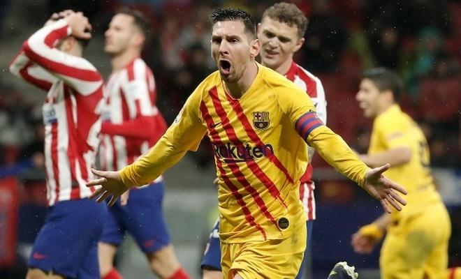 Barcelona lig liderliğini bırakmadı