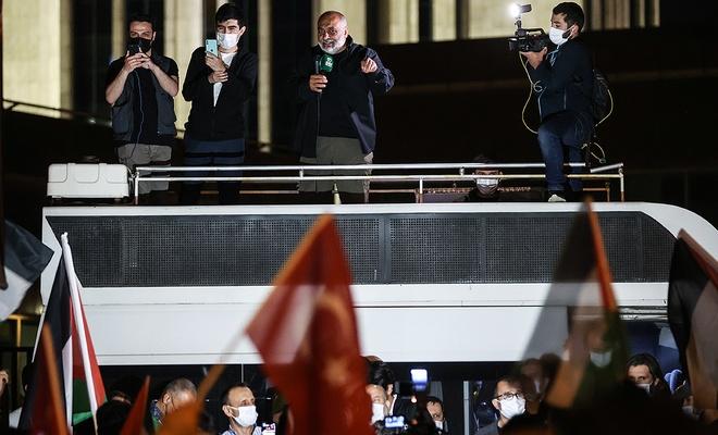 Bülent Yıldırım: Saldırılar devam ederse Mavi Marmara'da yaptığımızı yaparız