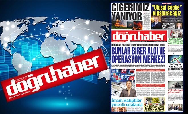 HÜDA PAR Sözcüsü Demir'den fonlanan medyaya tepki:  BUNLAR BİRER ALGI VEOPERASYON MERKEZİ