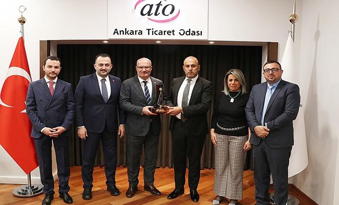 ATO Başkanı Baran: Filistinli kardeşlerimizin yanındayız