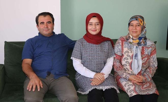 Hukuk fakültesini kazanan imam hatip öğrencisi ailesinin hayalini gerçekleştirdi