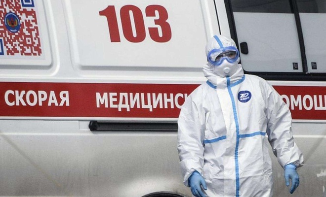 The number of coronavirus infections nears 3 million in Russia