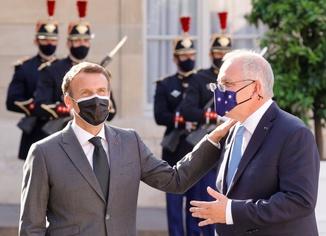 Macron ile konuşmaya gerek yok