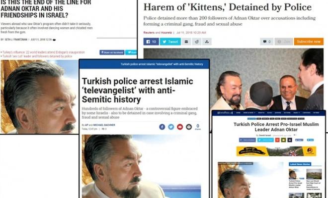 İşgalci İsrail basınının Adnan Oktar ilgisi şaşırtmadı