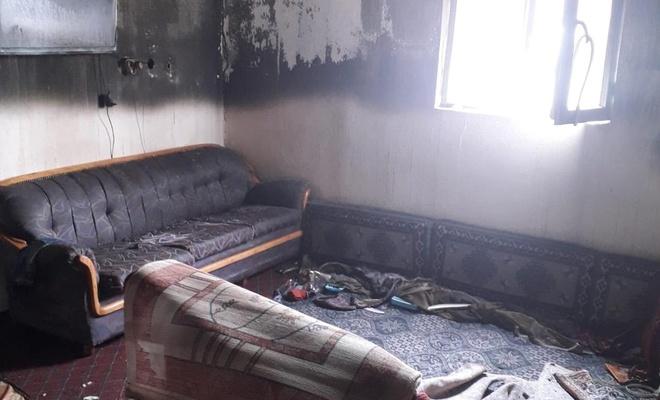 Ağrı'da evi yanan aile yardım bekliyor