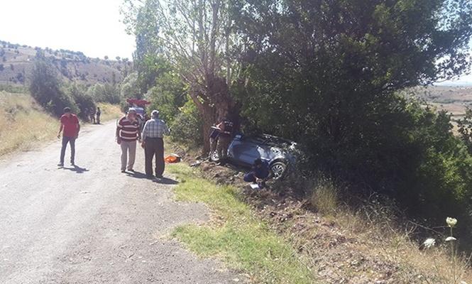 Sivas`ta trafik kazası: 2 ölü