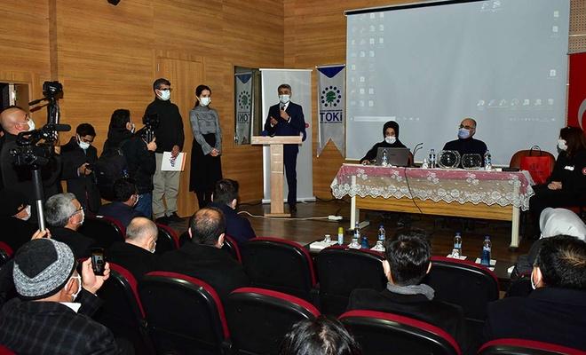 Malatya'da depremzedeler için yapılan konutlardan 104'ü hak sahiplerine teslim edildi