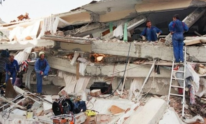 18th anniversary of Marmara Earthquake