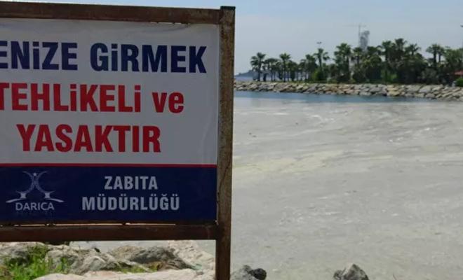 Denize girmek yasaklandı: Çünkü müsilaj var