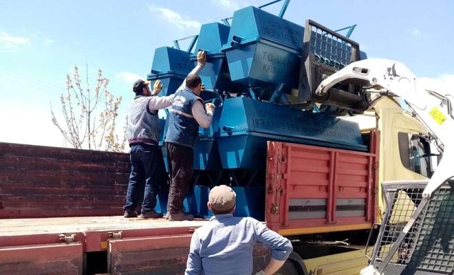Bahçesaray ve Çatak'a sac sıvat desteği