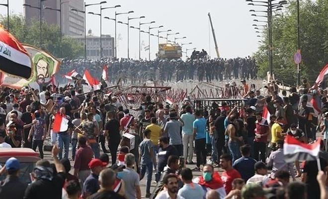 Irak'taki gösterilerde 5 günde 23 kişi öldü