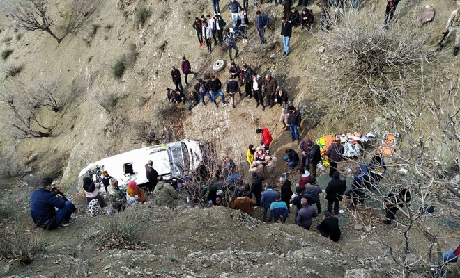 Sason kazasında sürücü tutuklandı, okul idarecileri açığa alındı