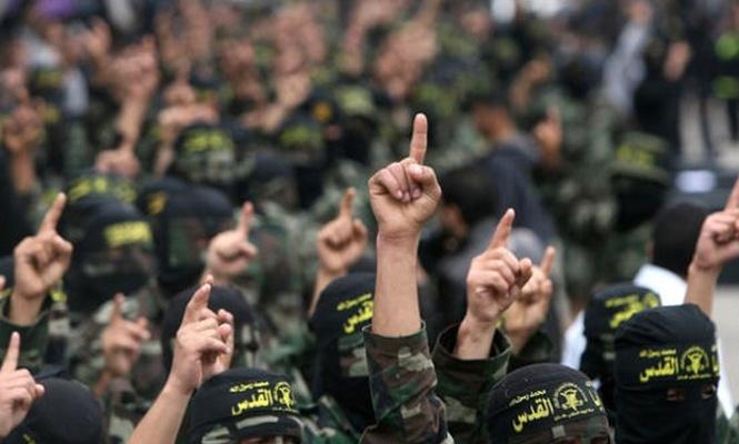 İslami Cihad İşgalci israil`e meydan okudu