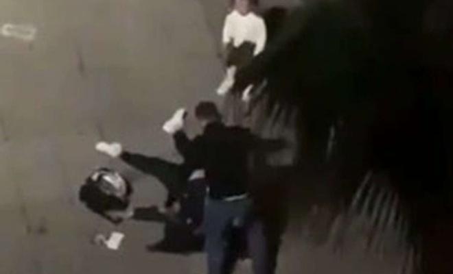 Samsun'da kızının önünde eski eşini darbeden kişi tutuklandı
