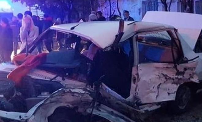 Trafik kazası sonucu 2 kişi öldü, 5 kişi yaralandı