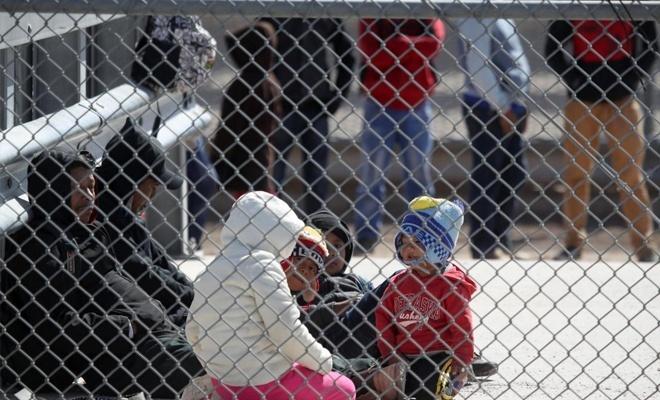 ABD'nin insafına kalmış göçmen çocuklar!