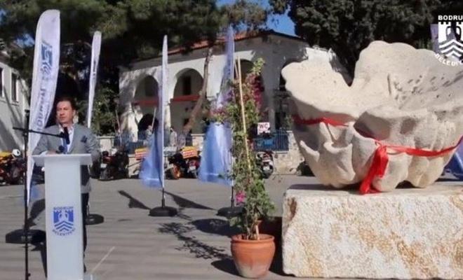 Bodrum Belediyesi 1 heykel için 2 yıl uğraşmış!