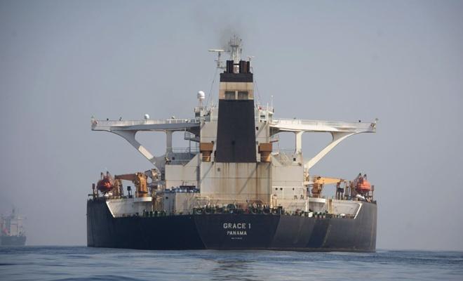 ABD'den İran tankerine yakalama kararı