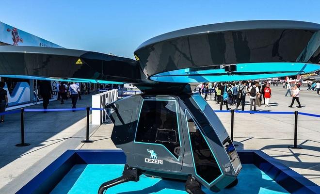 Uçan araba CEZERİ denemeleri Diyarbakır'da mı yapılacak?